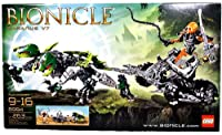 Lego Year 2009 Bionicle Series Vehicle Set # 8994 - BARANUS V7 with Two- Headed Spikit Plus Sahmad Figure with Chain, Whip and Spiked Thornax Launcher (Total Pieces: 263) from LEGO