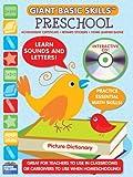 Preschool Giant Basic Skills Workbook with CD Rom (Giant Basic Skills Workbooks)