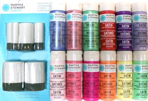 Plaid Martha Stewart Promo851 Girl'S Acrylic Paint Set front-813132