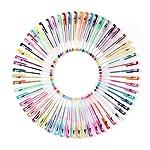 (オフフ) Ohuhu カラーペン ジェルペン 60本 セット 子供 / 大人の塗り絵 絵描き アート