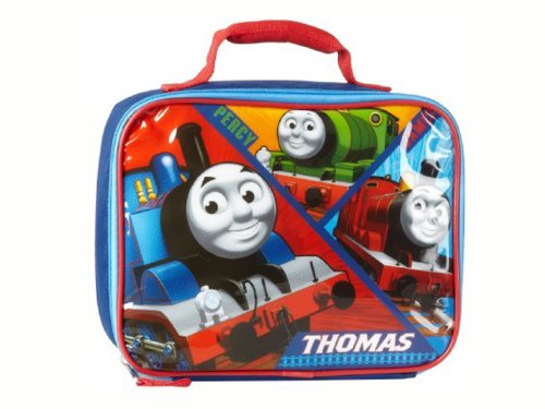 Thomas the Tank and Friends (Percy and James) Square Insulated Lunch Box - 1