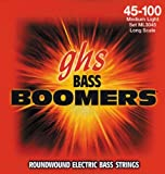 GHS Strings Electric Bass Boomer Set (Medium Nickel Steel, 4-String, Long Scale)