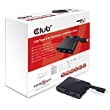 Club3D SenseVision USB Type-C to RJ45 イーサネット + USB Type-C Charging パワー + USB 3.0 Mini Dock 変換ドッグ (CSV-1530) (RJ45)