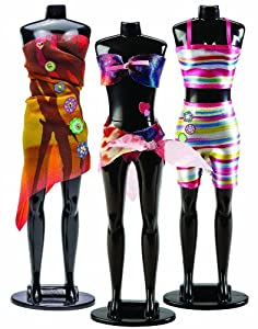 Crayola Catwalk Creations Fashion Designer Set With Mannequin Beach Bright Toys