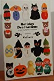 img - for Holiday Decorations to Knit by Hand or Machine book / textbook / text book
