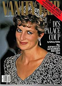 1993 Vanity Fair February - Princess Di; Joseph Beuys;Annie Leibovitz;E Thompson