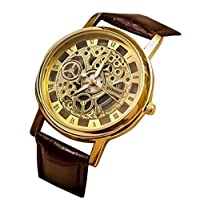 Efashionup Analogue Gold Dial Watch for Men- 103