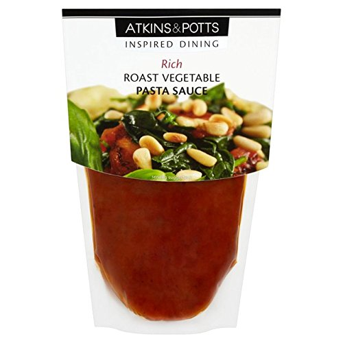 Atkins & Potts Gluten Free Roast Vegetable Pasta Sauce 350g