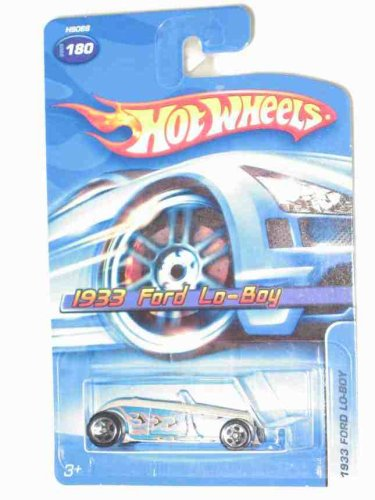 #2005-180 1933 Ford Lo-Boy Tan Collectible Collector Car Mattel Hot Wheels - 1