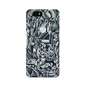 Mobicture Abstract Texture Printed Phone Case for Huawei Nexus 6P