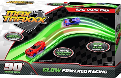 Max Traxxx Tracer Racers Dual Track Corner - 1
