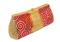 Hot Sale LZ New York Swarovski Crystallized Women's Fashion Evening Purse/Clutch HB-W010