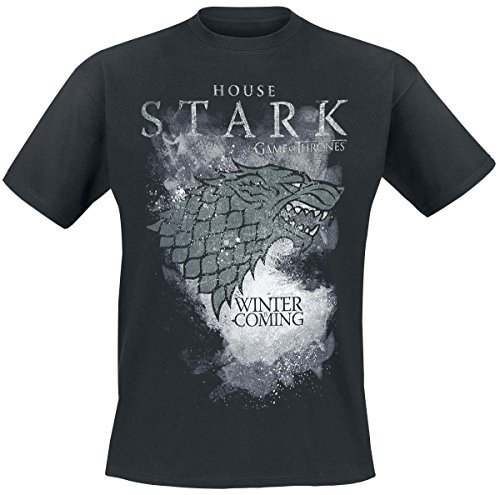 Game of Thrones T-Shirt Stark Houses Size M