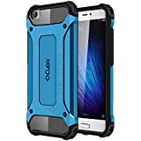 Cubix Impact Hybrid Armor Defender Case For Mi 5 (Blue)