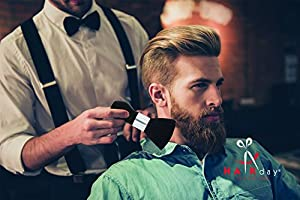 Neck Duster Brush, Removes Hair or Dust in an Instant - Perfect Tool for every Barber or Salon to use after Hair Cutting by Hairday Care Professionals (Color: Standard, Tamaño: One Size Fits All)