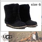 【即日発送/】 UGG Australiaアグ ブーツ アグ オーストラリア レディース ブーツ ウーマン 'Maylin' Boot (Women) ブラック 6/23.0cm 2012