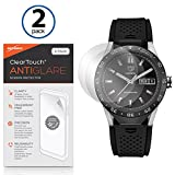 51E42PfLLwL. SL160  Tag Heuer Connected Screen Protector, BoxWave® [ClearTouch Anti Glare (2 Pack)] Anti Fingerprint Matte Film Skin for Tag Heuer Connected