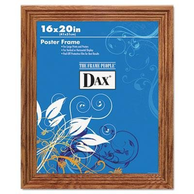 DAX Plastic Poster Frame, Traditional Clear Plastic Window,