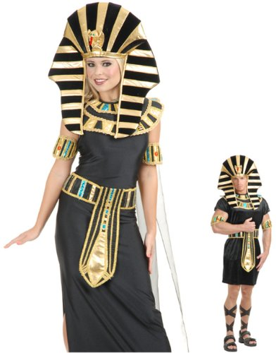 Unknown Women's King Tut Pharaoh Egyptian Costume Headpiece Set
