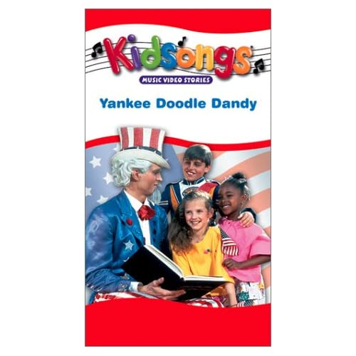 Amazon.com: Kidsongs: Yankee Doodle Dandy [VHS]: Marilyn Rising, Frat