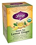 Green Tea Lemon Ginger, Yogi Tea - 16 Tea Bags
