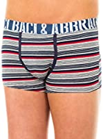 Baci & Abbracci Pack x 2 Bóxers (Gris Claro / Azul Marino / Rojo)