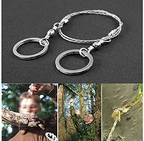 Greenwon 2015 New Arrival Force Commando Stainless Steel Wire Saw Scroll Saw Hiking Hunting Camping Emergency Survival Tool Kit