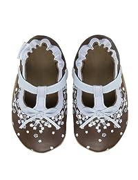 Robeez Soft Soles Lyrical T-Strap Crib Shoe (Infant/Toddler)