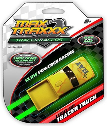 Max Traxxx Tracer Racers Light Trace Technology Truck (Assorted Colors)