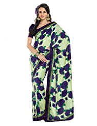 Cbazaar Exotic Art Dupion Silk Saree