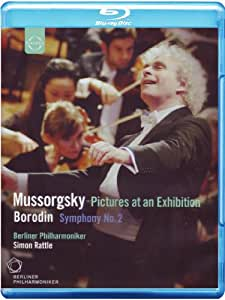 Mussorgsky: Pictures at an Exhibition & Borodin: Symphony No. 2 [Blu-ray]