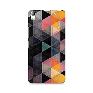 Ebby Hex Love Premium Printed Case For Lenovo A7000