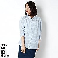 セブンアイディ コンセプト(7ID concept) 『STORY7月号掲載』ストライプリネンシャツ