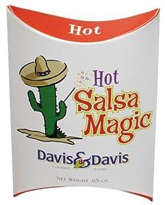 Davis Davis Gourmet Foods Salsa Magic - Hot 065-ounce Boxes Pack Of 12 by Davis & Davis
