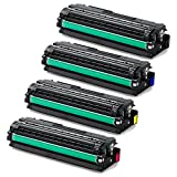 Doitwiser ® Compatible Toner Cartridge Set For Samsung CLP 680 CLP680 CLP-680ND CLX-6260 CLX-6260FD CLX-6260FR - CLT-K506L CLT-C506L CLT-M506L CLT-Y506L (High Yield Black 6,000 Pages - Colour 3,500 Pages)