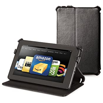 Set A Shopping Price Drop Alert For Kindle Fire Genuine Leather Cover by Marware, Black (does not fit Kindle Fire HD)