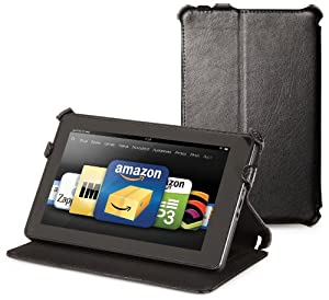 Kindle Fire Genuine Leather Cover by Marware