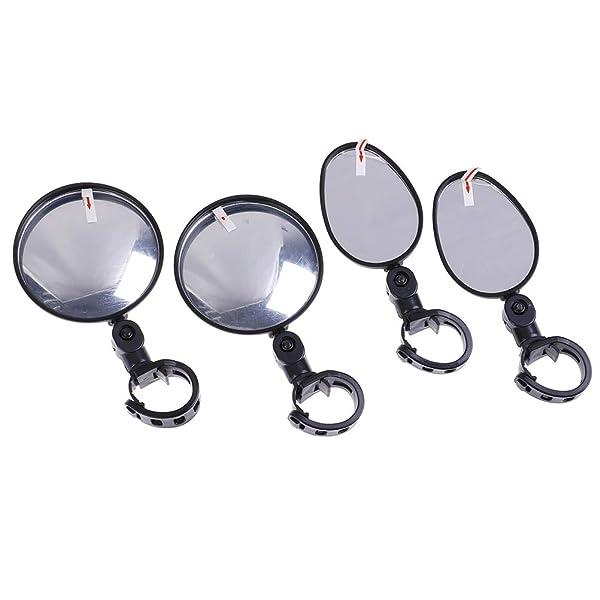 Bike Mirror Universal Adjustable Handlebar Bicycle Rear View 360 Degree Rotate