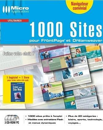 1000 Sites pour FrontPage et Dreamweaver