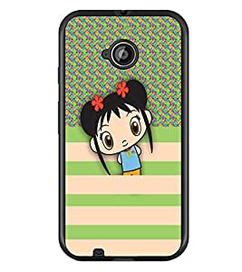 PrintDhaba Cartoon D-5791 Back Case Cover for MOTOROLA MOTO E2 (Multi-Coloured)