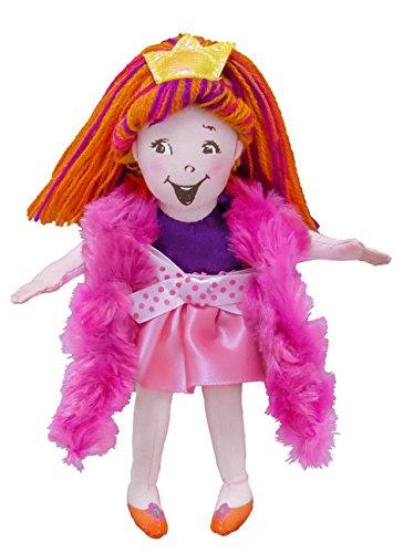 MerryMakers Fancy Nancy Plush Doll, 6-Inch