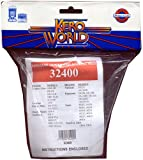 Kero World 32400 Complete Assembly Replacement Wick, Knitted Fiberglass