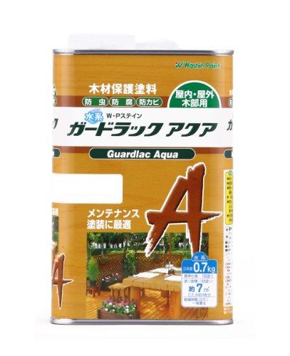 和信ペイント ガードラックアクア ホワイト 0.7kg