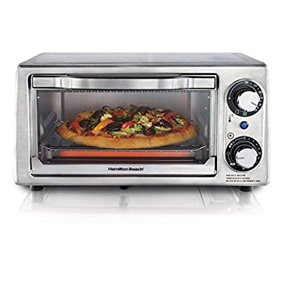 Hamilton Beach 31138 Stainless Steel 4 Slice Toaster Oven from Power Sales and Advertising Inc