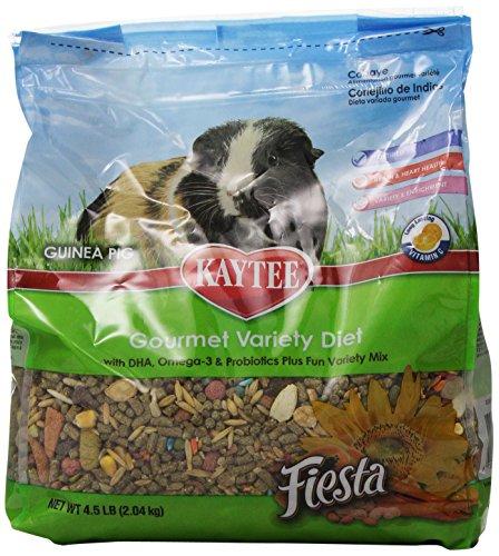 Kaytee Fiesta Max Guinea Pig Food, 4.5-Pound