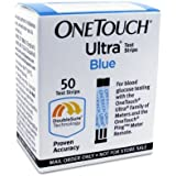 One Touch Ultra Blue Mail Order Test Strips, 50 CT