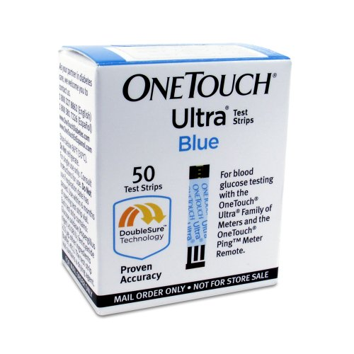 One Touch Ultra Test Strips are used with One Touch Ultra blood glucose monitoring systems to check blood sugar levels. One Touch Ultra systems check each blood sample twice. The price of One Touch Ultra Test Strips varies by pharmacy but they usually cost around $40 for 25 test strips.
