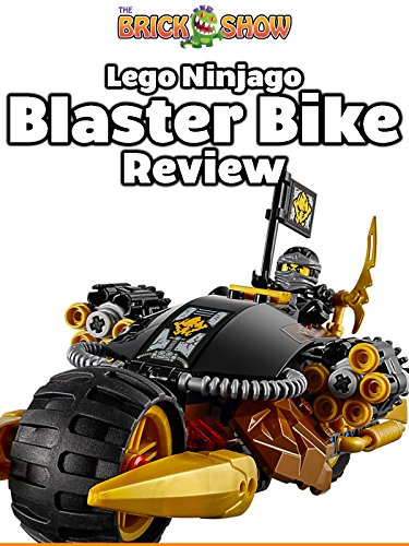 LEGO Ninjago Blaster Bike Review (70733)