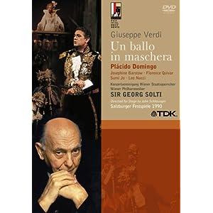 Verdi - Un ballo in maschera / Domingo · Barstow · Quivar · Jo · Nucci · Rydl · Chaignaud · Wiener Phil. · Solti · Schlesinger · Salzburg Festival 1900