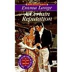 Book Review on A Certain Reputation (Signet Regency Romance) by Emma Lange